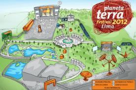 Planeta Terra Festival Lima 2012: Plano general
