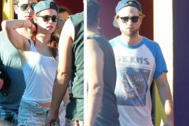 Kristen Stewart y Robert Pattinson disfrutan su vida como pareja - Fotos