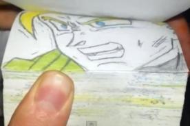 Dragon Ball Z: Creativo enfrentamiento causa furor en YouTube - Video