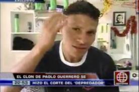 Video: 'Paolo Guerrero de Collique' se tatuará en honor al goleador