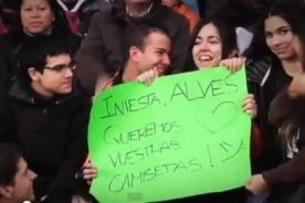 Video: Barcelona abre las puertas de su entrenamiento a los hinchas