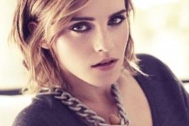 Emma Watson encantadora y seductora en fotos de la revista 'Marie Claire'