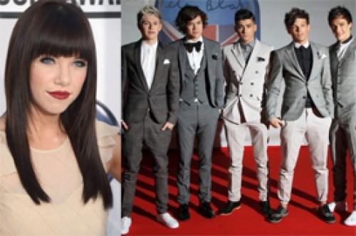 Peoples Choice Awards: Carly Rae Jepsen vs One Direction para Artista Revelación