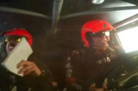 Dakar 2013: Vive la volcadura de Robby Gordon desde su Hummer - Video