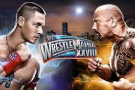 Mañana inicia Wrestlemania 29 con la pelea estelar: La Roca vs John Cena