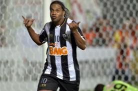 Ronaldinho: Estoy muy feliz de entrar en la historia del club