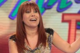 Magaly Medina confirma que no estará en la televisión hasta el 2014