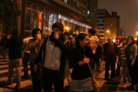 Repartija: Movilización es interrumpida por bombas lacrimógenas - Video