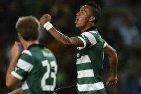 Video: Mira el gol que marcó André Carrillo con el Sporting de Lisboa