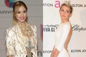 Eiza González VS Miley Cyrus: Liam Hemsworth no es lo único que las une