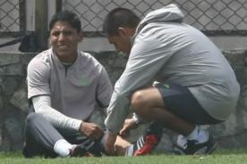 Raúl Ruidíaz se lesionó y no jugará ante José Gálvez