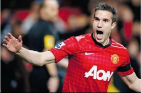 ¿Van Persie dejaría el Manchester United para regresar al Arsenal?