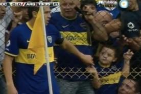 El gran gesto de Juan Román Riquelme a un niño hincha del Boca Juniors - VIDEO
