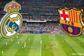 ¿A qué hora es el partido Real Madrid vs. Barcelona? - Liga BBVA