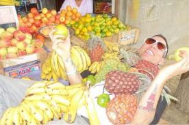 [Fotos] Steve O de Jackass hace de las suyas en ciudad de Trujillo