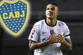 Corinthians: Paolo Guerrero podría ser fichado por el Boca Juniors