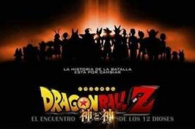 ¿Dragon Ball Z: El encuentro de los 12 dioses? Supuesto afiche recorre Facebook