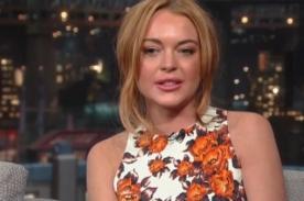 Lindsay Lohan confirma que lista de 36 amantes es real