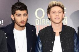 Zayn Malik envidia a Niall Horan porque no tiene que cuidar su peso