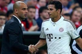 Bayern Munich: Entérate qué dijó Guardiola sobre Claudio Pizarro