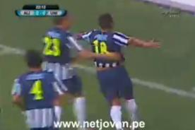 Alianza Lima vs Universitario: Mira el gol de Israel Khan [Video]