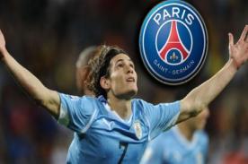 Uruguay vs Inglaterra: PSG felicita a Cavani tras victoria - Mundial 2014