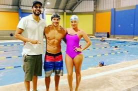 Instagram: ¡Mario Hart y Leslie Shaw se encontraron en este lugar con Niko Ustavdich! . FOTO