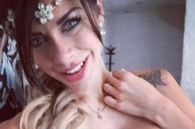 Xoana González le da lección a todas las casadas posando como nunca antes - FOTO