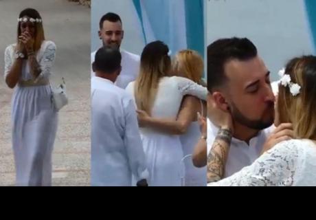 La invita a la boda de su amigo, pero al llegar se da con la sorpresa que es su propio matrimonio
