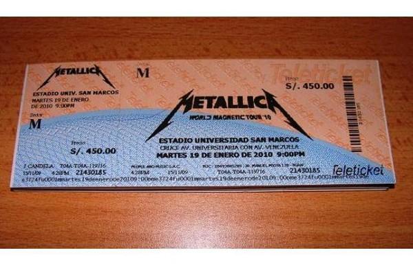 Metallica en Lima: Hoy es el gran concierto