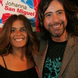 Johanna San Miguel descarta rivalidad con Carlos Carlín
