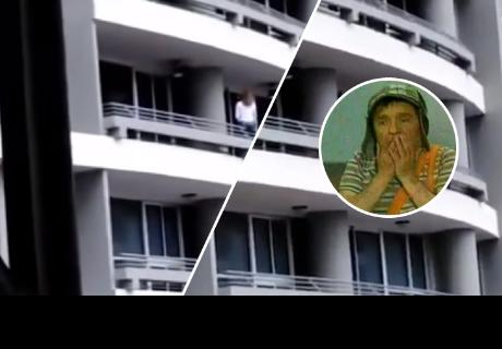 Quiso tomarse un selfie en el balcón de un hotel, pero tuvo trágico final