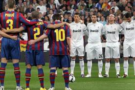 Barcelona vs Real Madrid: Alineaciones confirmadas