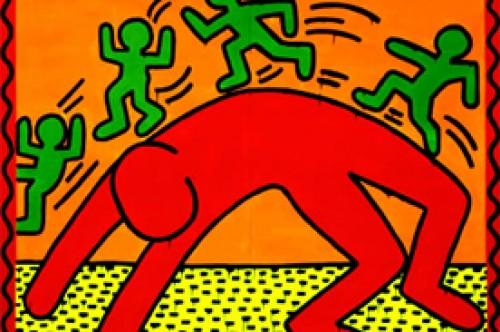 Keith Haring: Pinturas y dibujos del artista de la generación pop