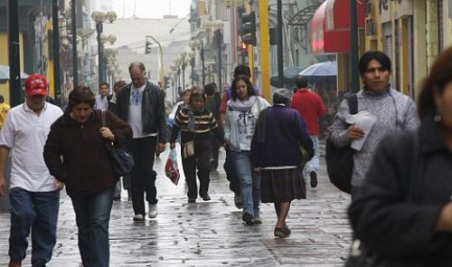 Lima tuvo el día más frío del año
