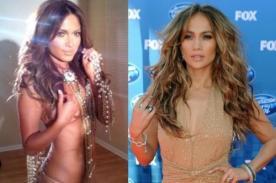 Fotos: 'Conejita' sorprende con notable parecido a Jennifer Lopez