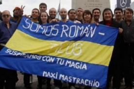 Hinchas de Boca Juniors se unen para que Riquelme no deje el club