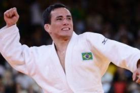 Olimpiadas 2012: Judoca brasileño rompe su medalla en los Juegos de Londres