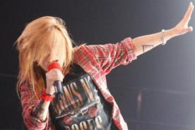 Yo Soy: Axl Rose peruano interpretó  Dont Cry vestido con short  - Video