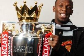 Premier League: Rio Ferdinad quiere a Usain Bolt en el Manchester United