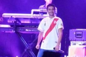 Teens Live Festival: The Wanted lució camisetas peruanas en concierto