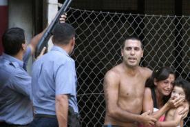 Video: Hinchas de Central y Newells generan el caos en clásico de Rosario