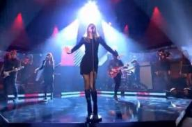 Taylor Swift cantó 'I Knew You Were Trouble' en programa británico – Video