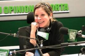 Sofía Franco hizo su debut oficialmente como conductora radial