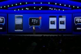 iOS y Android podrán usar Blackberry Messenger