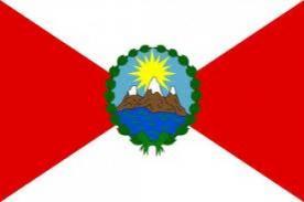 Símbolos patrios del Perú: Historia de la primera bandera