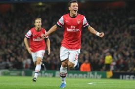 Video: Arsenal derrotó 2-0 a Nápoli con gran actuación de Mesut Ozil