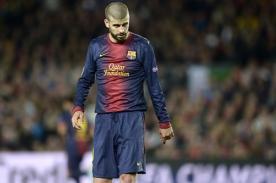 Gerard Piqué defendió al Barcelona con una crítica hacia Real Madrid