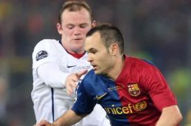 Barcelona: Manchester United hará oferta por Andrés Iniesta si no renueva
