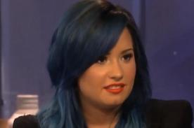 Demi Lovato: Fui directamente a rehabilitación, no hice el 'twek'